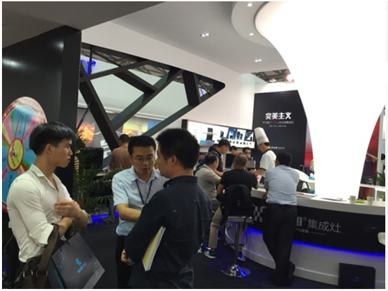 Shanghai Exhibition-LANG Integrated Cooker: Thousand people visited in the first day